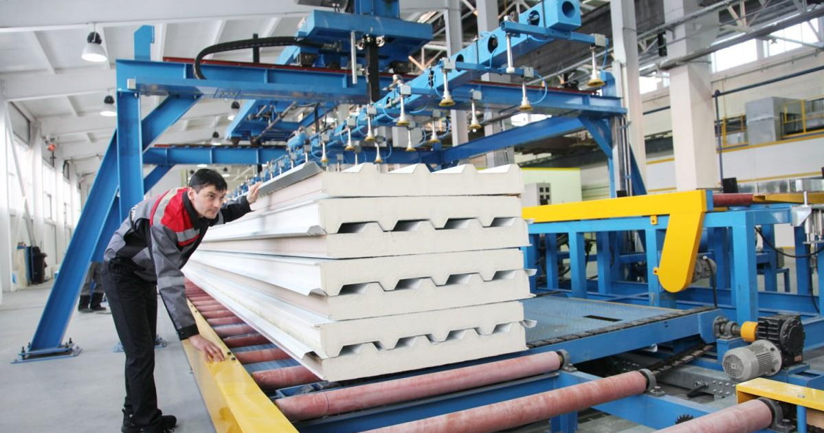Производство сэндвич панелей Пермь цена от 1258 руб.