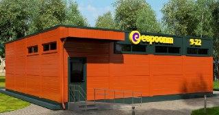Магазин из сэндвич панелей Пермь от 73360 руб.