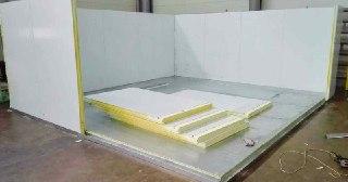 Сэндвич-панели для холодильных камер под ключ в Перми цена от 1363 руб